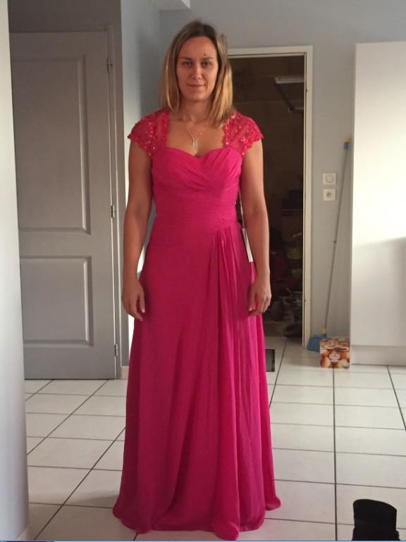 de85ff792df568 Etui-Linie Herz-Ausschnitt Ärmellos Perlenstickerei Bodenlang Chiffon  Kleider für die Brautmutter