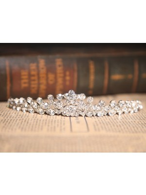 Charming Clear Kristalles Wedding Headpieces
