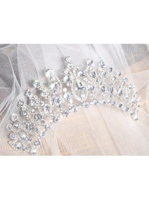 Elegant Alloy Clear Kristalles Wedding Headpieces