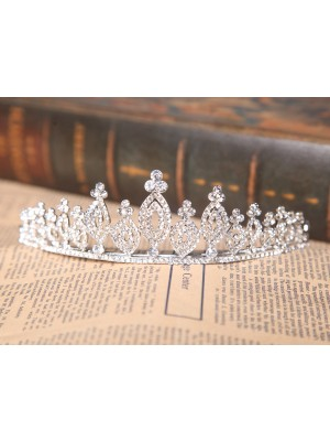 Gorgeous Alloy Clear Kristalles Wedding Headpieces