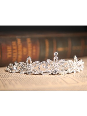 Gorgeous Clear Kristalles Flower Wedding Headpieces