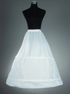 Nylon A-Liniee 1 Tier Bodenlang Slip Style/Wedding Jupons
